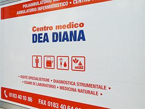 Centro Medico Dea Diana - Logo Vetrina