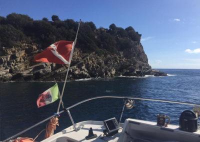MolaMola Dive Team escursione Isola Gallinara