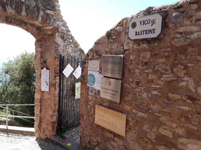 Entrata del Bastione di Mezzodì nel Borgo Medioevale di Cervo