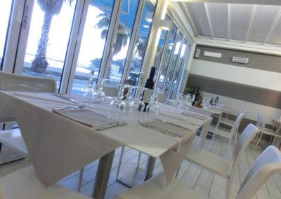 Bar Ristorante Beach - Saletta vista mare