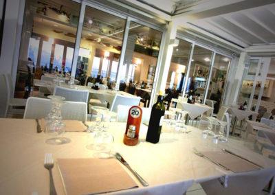 Bar Ristorante Beach - Vista tavoli
