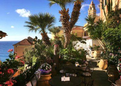 Cafè Ariel - Giardino e panorama